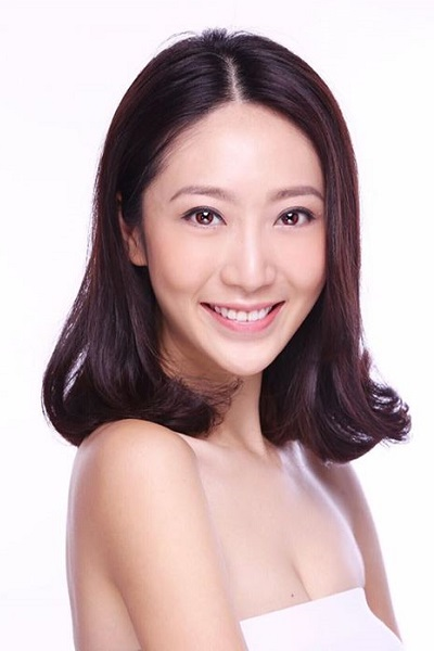 zmodel Hong Kong based Asian female model Alia Cheung headshot photo