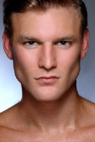 Headshot of Hong Kong based Caucasian male model Chris L